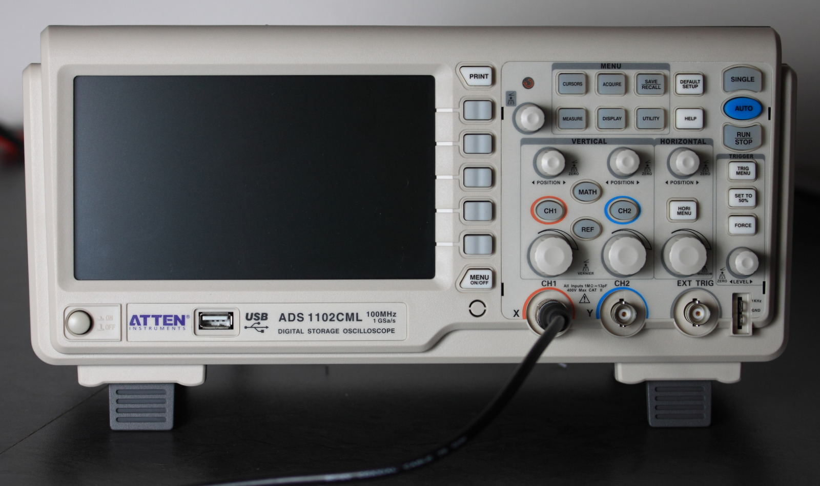 Atten ADS 1102CML Digital Oscilloscope review